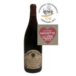 Bourgogne Côtes d'Auxerre rouge Pinot Noir 2010