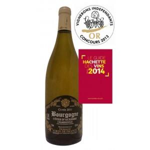 Bourgogne Cotes d'Auxerre blanc Chardonnay 2011