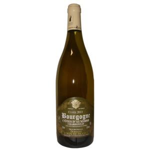 Bourgogne Cotes d'Auxerre blanc Chardonnay 2013